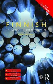 芬兰语学习 - Colloquial Finnish: The Complete Course for Beginners 包邮 (赠送2本英语原版电子书: 1) 芬兰语语法详解; 2) 西班牙语,葡萄牙语,意大利语和法语比较语法)
