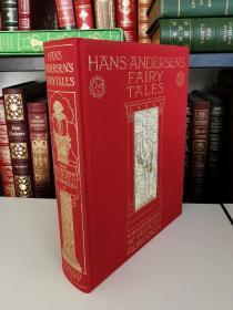 Andersen  Fairy Tales 《安徒生童话》folio society 布面精装版 大开本 带书匣 品好近全新