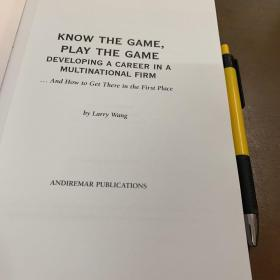 KNOW THE GAME PLAY THE GAME
