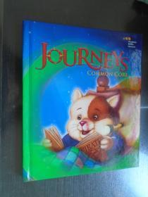 Journeys: Common Core Student Edition Volume 1 Grade 1 2014  英文原版精装