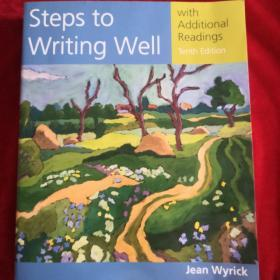 Steps to Writing Well     with Additional Readings(英文原版)