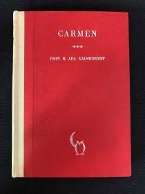 Carmen:An opera in four acts《卡门:歌剧四部》
