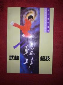 名家经典:武林轻功绝技(内收练功秘方)1995年版!