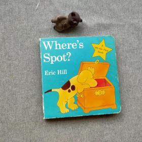 Where's Spot? [Board book]