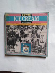 lCE  CREAM  冰淇淋食谱    英文原版24开