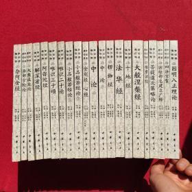 佛教传统文化典籍导读(即佛学经论导读)(全21册)正版现货当天发货。