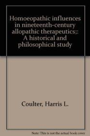 Homoeopathic Influences in Nineteenth-Century Allopathic Therapeutics
