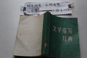 文学描写辞典 小说部分(上)