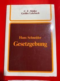 C . F . Müller Großes Lehrbuch Hans Schneider Gesetzgebung