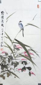 郑保勤:河南省直书画家协会副主席,河南省美术家协会会员。