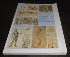 2手德文 Lucas Cranach: Meisterwerke auf Vorrat  卢卡斯·克拉纳赫 黑白素描 ma3