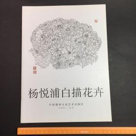 杨悦浦白描花卉