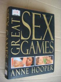 GREAT SEX GAMES  《如何使性生活不再无趣》英国性学专家HOOPER 著。全铜版纸图文本 袖珍本