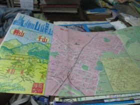 鞍山地图:鞍山游千山1989