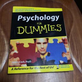 Psychology For Dummies 英文原版《傻瓜心理学》