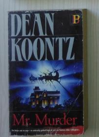 瑞典语原版 Mr. Murder by Dean Koontz 著