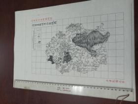 济宁直隶州自治区域图1张【该地最早的按比例尺绘制的地图】