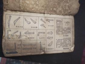 文革时期――为人民服务字帖一本