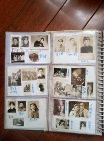 49年一51年军人解放舟山群岛时期战友照片68张。