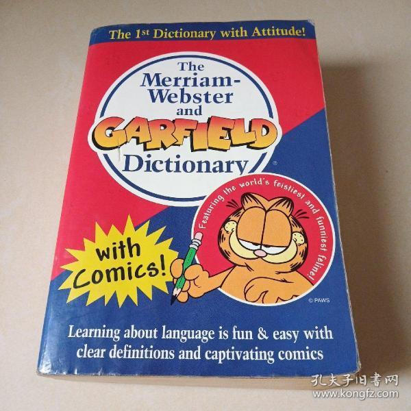 M-W and Garfield Dictionary 韦氏加菲猫字典(卡通配图、适合各年龄段)