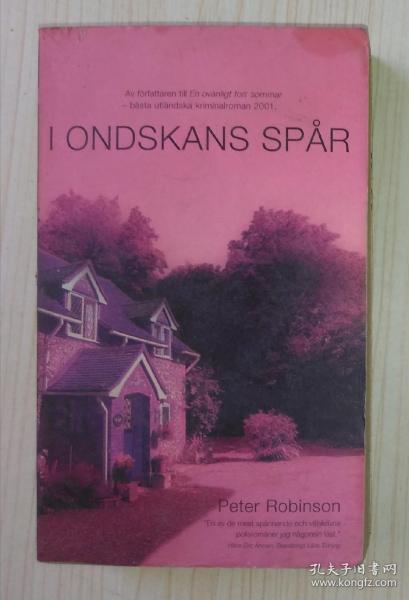 瑞典语 I Ondskans Spår by Peter Robinson 著
