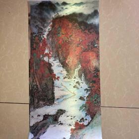 国画系列六张合售