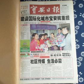 宝安日报 2004年1月(1-31日)