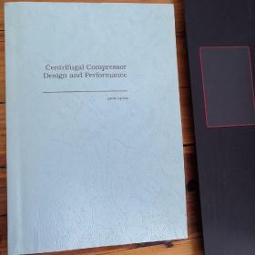 Centrifugal Compressor Design and Performance 离心式压缩机 经典著作