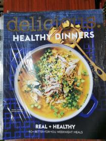 delicious HEALTHY DINNERS 特刊美食杂志  英文版
