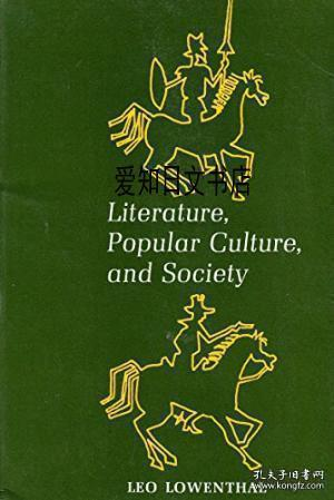 Literature,Popular Culture, and society