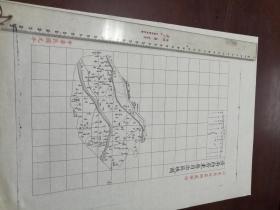 济南府齐东县自治区域图1张【该地最早的按比例尺绘制的地图】