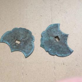 铜构件 老物件