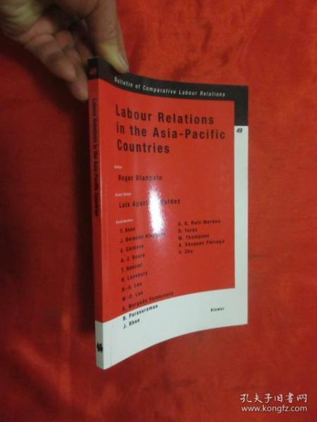 Labour Relations in the Asia-Pacific Countries    (小16开)【详见图】