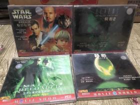 欧美大片VCD电影 骇客帝国22世纪杀人网络 星际前传魅影危机 异型1 异型2