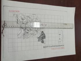 济宁直隶州嘉祥县自治区域图1张【该地最早的按比例尺绘制的地图】