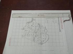东昌府恩县自治区域图1张【该地最早的按比例尺绘制的地图】