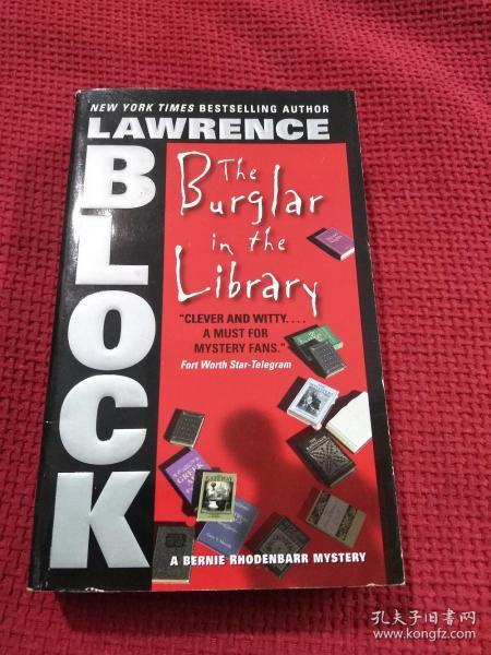 LAWRENCE BLOCK the burglar in the library
