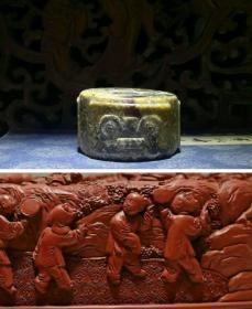 【良渚文化玉琮】高古玉、石灰沁,适合收藏的玉琮【178g】古朴外形,江南一带的地方美玉。从玉质、器型、沁色、加工痕迹看,独具良渚文化玉器的特征,教科书般的风范。