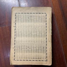 民国 秘术一千种 实物拍照 书页干净 品自定 H3