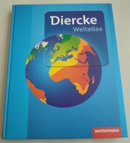 德文原版书 Diercke Weltatlas - Aktuelle Ausgabe (Deutsch) Gebundene Ausgabe – 1. April 2015 von Various authors (Autor)