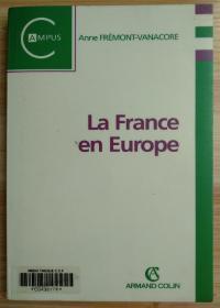 法文原版书 La France en Europe (French) Paperback