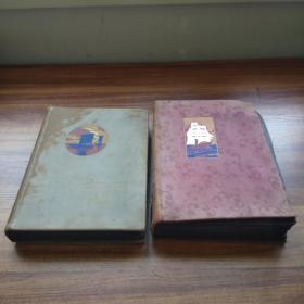 日本回流  《绘叶书帖》两厚册    早期明信片    未使用过     约270多幅    蒙娜丽莎     圣母    天使    天鹅和野兽   牧师