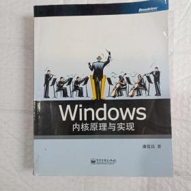 Windows内核原理与实现,看图购书。