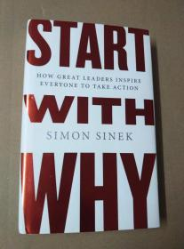 START WITH WHY(英文原版·精装)