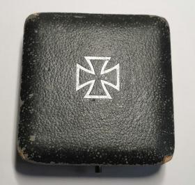 保真二战原品德国一级铁十字勋章带原盒