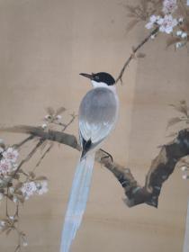 日本回流 花鸟画
