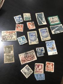 老邮票一堆 品一般 便宜出 有全戳