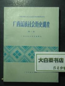 中国少数民族社会历史调查资料丛刊 广西瑶族社会历史调查 第一册(47232)