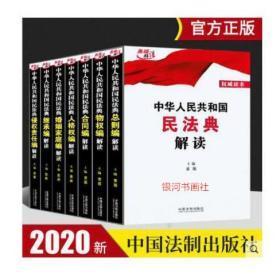 【现货速发】中华人民共和国民法典解读 全7册