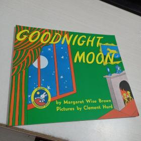Goodnight Moon月亮,晚安 英文原版(平装 横16开 )